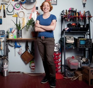 Becky Stern - Maker and Makerbot User