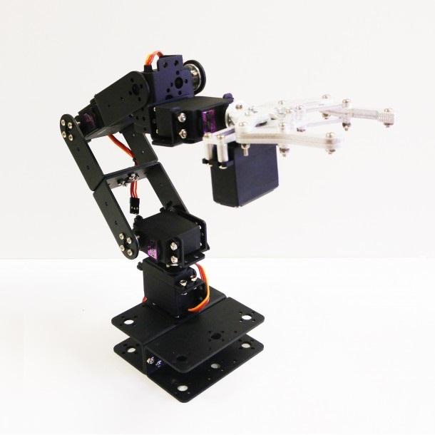Robot Arm 6dof Aluminium Kit Build Project Anthony Matabaro